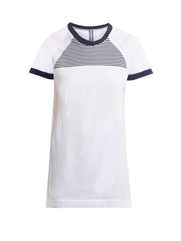 Optic performance cotton-blend T-shirt